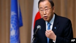 Ông Ban nói các mưu toan chiếm thêm đất của phiến quân Houthi vi phạm các nghị quyết của Hội đồng Bảo an Liên Hiệp Quốc