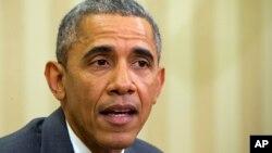 رئیس جمهور امریکا تلاش دارد قناعت خاطر مخالفین این توافق را فراهم کند.