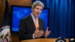 El secretario de Estado, John Kerry, intensifica sus esfuerzos diplomáticos..
