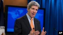 존 케리 미 국무장관 (자료사진)