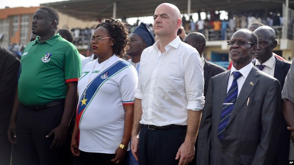 Fifa chief in south sudan promotes new era of football publicscrutiny Image collections