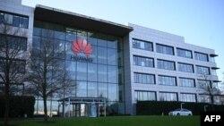 Trụ sở Huawei tại London (ảnh chụp ngày 28/1/2020)