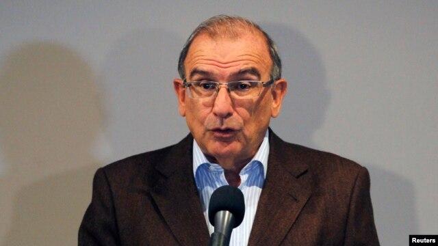 El Jefe Negociador del gobierno de Colombia, Humberto de la Calle Lombana, dijo que la paz no es a cualquier costo.
