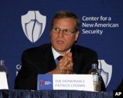 新美國安全中心亞太安全項目主任帕特里克.克羅寧