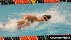 Cambodian-American swimmer Puo Sovijja has been selected to represent Cambodia at the Olympic Games in Brazil this year.