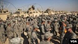 Dènye Konvwa Sòlda Etazini an Kite Irak