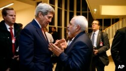 16 Ocak'ta Cenevre'de görüşen ABD ve İran Dışişleri Bakanları John Kerry ve Cevat Zarif