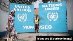 Siège de la Mission des Nations Unies en RDC, à Kinshasa, 9 août 2017. (Twitter/Monusco)