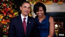 El presidente Barack Obama dijo sentirse orgulloso de quienes están destacados en Irak y Afganistán.