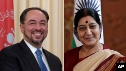 Afghanistan India foreign ministers