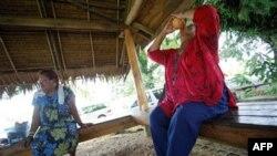 Жители островного государства Палау