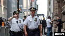 Поліція на вулицях Нью-Йорка
