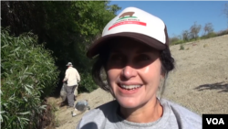Lois Keller, LA River Cleanup Volunteer