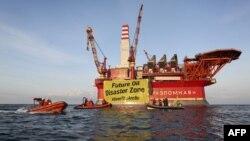 Платформа «Приразломная» компании «Газпром нефть шельф»