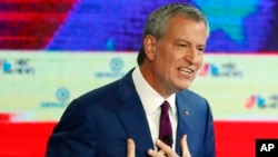 Le maire de New York Bill de Blasio