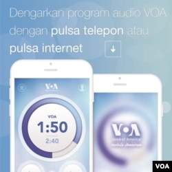 VOA Mobile Streamer App - Indonesian