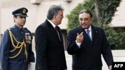 Gül ve Zerdari Ankara'da
