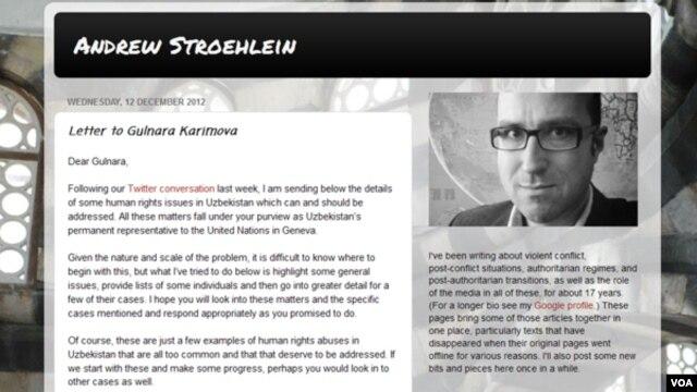 Endryu Strolayn Bryusselda asoslangan International Crisis Group, bo'hronlarni o'rganuvchi xalqaro tashkilot ekspertlaridan biri