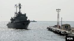 """Rusiyanın """"Tatarıstan"""" raketdaşıyan gəmisi"""