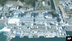 فوکوشیما ایٹمی بجلی گھر کو نقصان پہنچے سے پہلے اور بعد کے مناظر