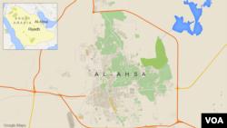 사우디 아라비아 동부 알아사 시.