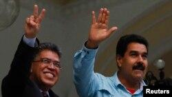 El ministro de las Comunas, Elías Jaua, forma parte del círculo de confianza del presidente Nicolás Maduro.