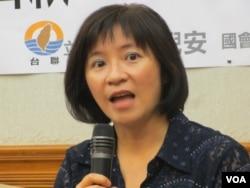 台灣在野黨台聯黨立委周倪