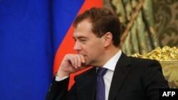 Президент России Дмитрий Медведев (архивное фото)