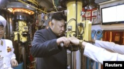 Corea del Norte llevó a cabo el lanzamiento de un misil balístico.