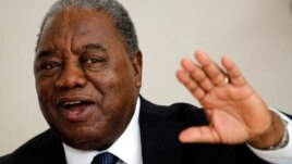 Zambia's former president, Rupiah Banda, is seen in a  March 8, 2011, file photo.