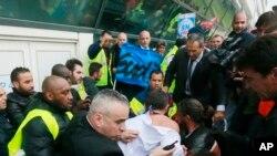 Manifestações na Air France