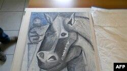 Dy pikturat e vjedhura të Pikasos gjenden në Beograd