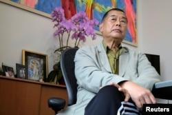 资料照:香港苹果日报创始人黎智英