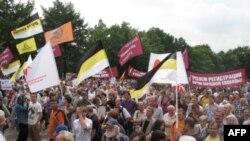 Акция в Москве в поддержку ПАРНАСа. Июнь 2011г.