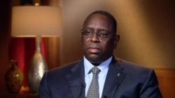 Interview exclusive de Macky Sall à la VOA