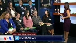 VOA Voter Panel Gives Clinton Edge in 2nd Debate