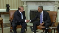 Obama, Sharif Talk Afghan Reconciliation, Counterterrorism