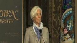拉加德:全球經濟成長令人失望