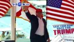VOA60 America - Republican presidential candidate Donald Trump took aim at Ben Carson