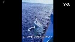 美國海岸警衛隊成功營救海上失踪男子