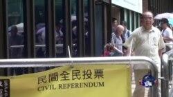 港人民意促政府回应 民间占中已箭在弦上