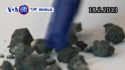 Tìm thấy mảnh vụn thiên thạch nổ tại Nga (VOA60)