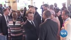 Macron et Kenyatta au sommet One Planet sur le climat