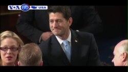 Ông Paul Ryan là Chủ tịch Hạ viện Mỹ trẻ nhất kể từ năm 1869 (VOA60)