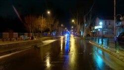 """Празни улици, казни за """"шетачите"""": Северна Македонија под полициски час"""