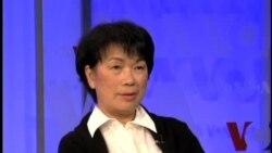 VOA卫视专访台湾文化部长龙应台-与听众观众互动