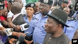 Presidente Goodluck Jonathan da Nigéria