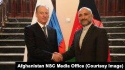نیکولای پتروشف، مشاور امنیت ملی روسیه، به دعوت محمدحنیف اتمر، به کابل سفر کرده است