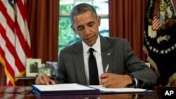 آقای اوباما با تمدید این فرمان یادآوری شد هنوز اختلافات ایران و آمریکا پا برجاست.