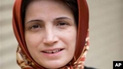 Nasrin Sotoudeh, an Iranian lawyer and human rights activist was among those released.